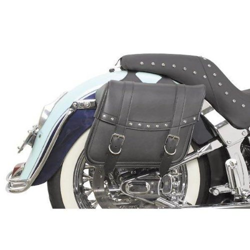 - Saddlemen Highwayman Slant-Style Saddlebag - Rivet - 13in.L x 6in.W x 9 1/2in.H X021-03-040