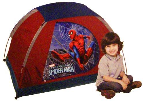 C&ing Tent for Kids Marvel Spider*Sense Spider-man 5u2032 x 3u2032 Dome with Floor  sc 1 st  Outdoor Stuffs & Camping Tent for Kids Marvel Spider*Sense Spider-man 5u0027 x 3 ...