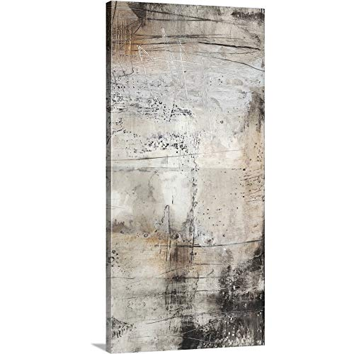 GREATBIGCANVAS Gallery-Wrapped Canvas Entitled Black, White and Bronze II by Jennifer Goldberger 12