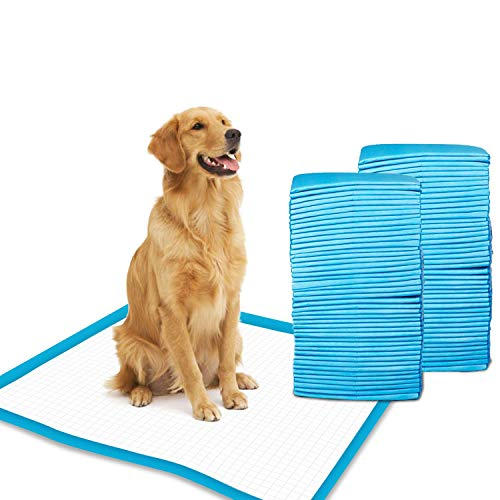 Gardner Pet Super-Absorbent 24 by 24 Inches Dog Training Pads - 50 Count of Pads