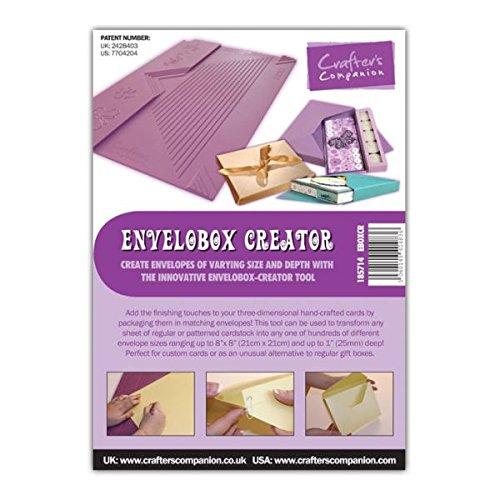 Crafters Companion The Envelobox Creator Scoreboard, Purple Crafter's Companion EBOXCR