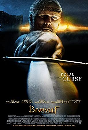 Amazon.com : BEOWULF (2007) Original Authentic Movie Poster 27x40 - Double  - Sided - Ray Winstone - Angelina Jolie - Anthony Hopkins - Robin Wright :  Everything Else