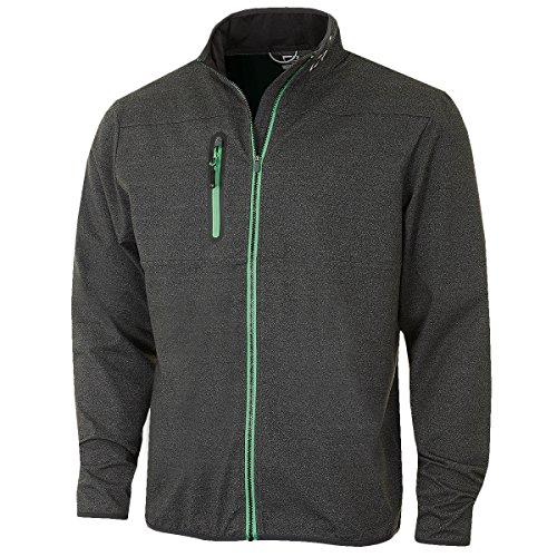 Cheap Cutter & Buck Men's Montana Full Zip Performance Jacket - US XXL - Charcoal