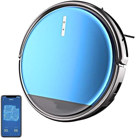 YL-light Aspirador Robotizado, Wi-Fi Conectado, Funciona con Alexa ...