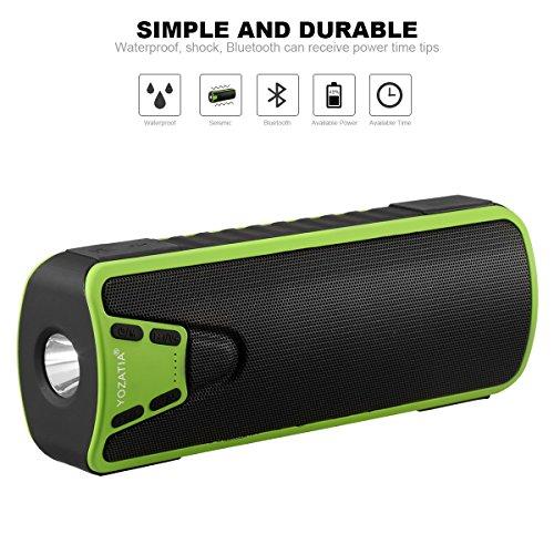 YOZATIA Flashlight Waterproof Bluetooth Compatible product image