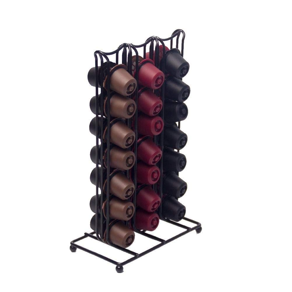 Tassimo pod holder,Coffee pod holders,40pc Coffee Capsule Holder - Compatible With Nespresso Capsules Bac bac
