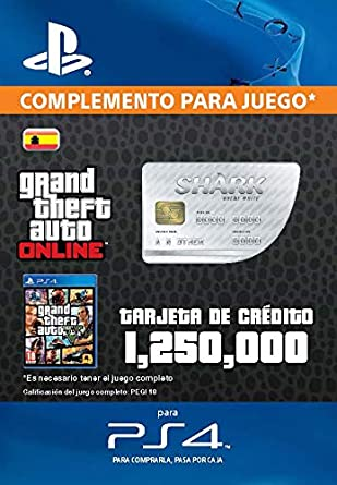 Grand Theft Auto Online - GTA V Cash Card | 1,250,000 GTA ...