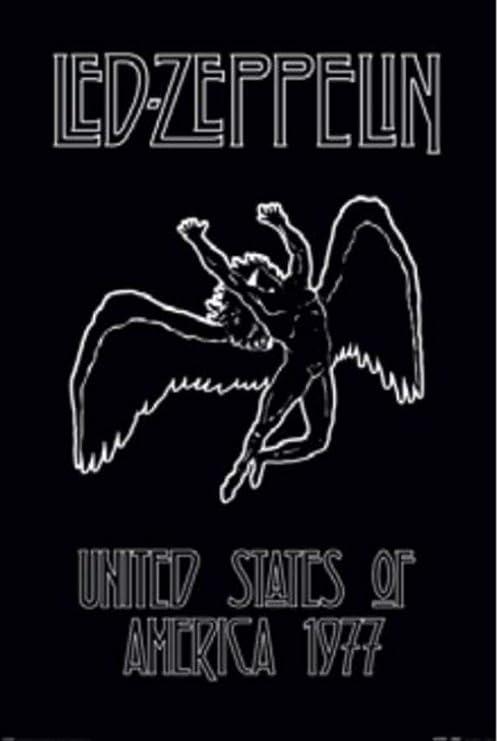 Art print poster Led  Zeppelin  Album Cover