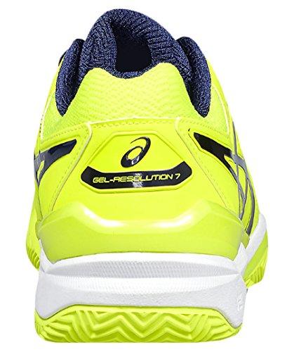 Asics Gel Uomini Risoluzione Scarpe Da Tennis 7 Argilla Gialla (31)