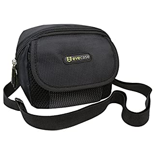 Evecase Black Digital Camera Pouch Nylon Case with Strap for Sony Cyber-Shot/Instax Mini 8 Instant Camera (B00489O122) | Amazon price tracker / tracking, Amazon price history charts, Amazon price watches, Amazon price drop alerts