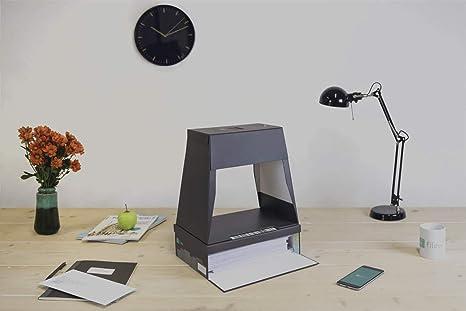 fileeeBox Set 2.0 - Escáner de documentos con smartphone, caja de ...
