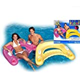 Blue Lagoon Inflatable Island Pool Float Holds 6 Person Toys Games