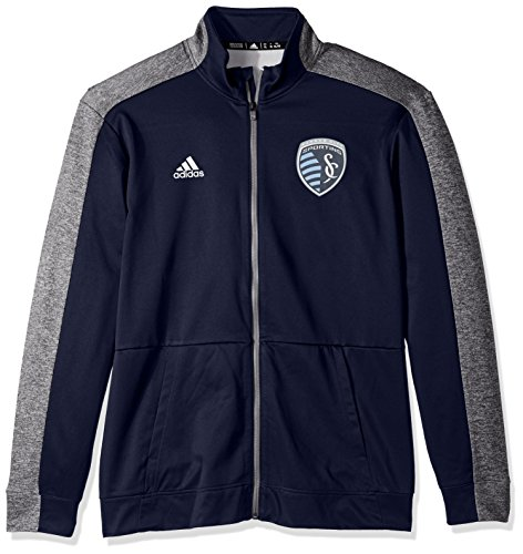 MLS Sporting KC Performance Track Jacket, X-Large, Dark Navy