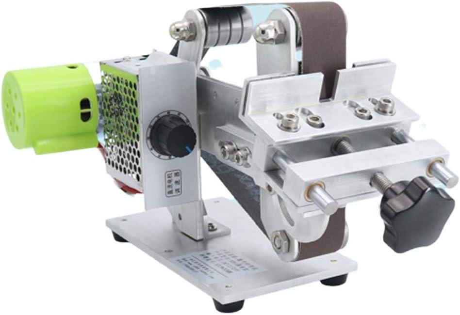 Mini Poliermaschine Vertikal Schleifmaschine DIY Bandschleifer 795 Motor