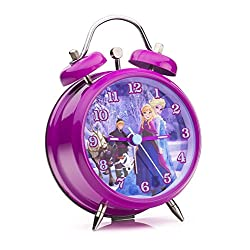 Disney Frozen Analogue Mini Twin Bell Alarm Clock, Froz4