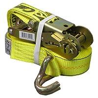 CargoLoc 82291 2-Inch by 27-Feet Ratchet Tie Downs,  J-Hooks Deals