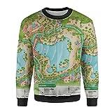 Typhoon Lagoon Map Mens Sweatshirt - XS