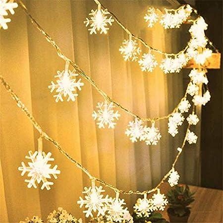 LED Christmas Trees Snowflakes Fairy Lights String Lights Wedding Garland Decors