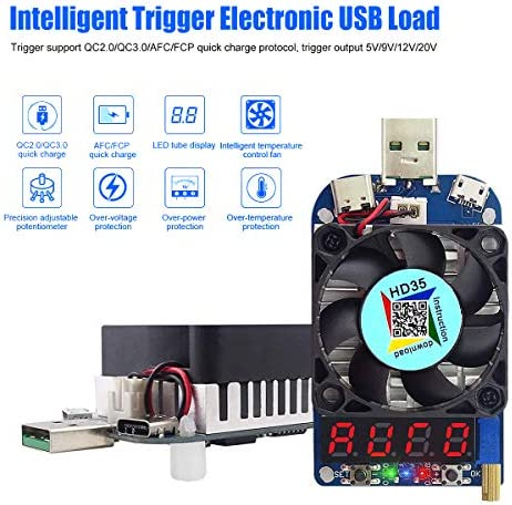 USB Tester New USB Adjustable Electronic Constant Current Load Line Analyzer