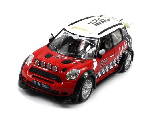 UPC 111623334820, Licensed BMW Mini Cooper WRC R60 Electric RC Car Rally 1:18 RTR (Colors May Vary) Authentic Body Styling