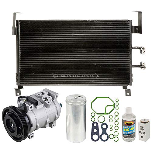 A/C Kit w/AC Compressor Condenser Drier For Plymouth Dodge Neon 2000 2001 - BuyAutoParts 60-89359CK - Dodge A/c Compressor Neon