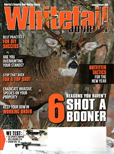 Whitetail Journal Magazine January/February 2019 | Shot a Booner