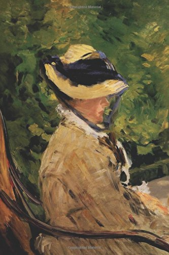 """Download """"Madame Manet at Bellevue"""" by Edouard Manet - 1880: Journal (Blank / Lined) (Art of Life Journals) PDF"""