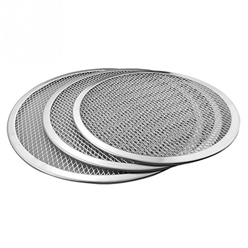 Wall of Dragon Flat Mesh Pizza Screen Oven Baking Tray Net Bakeware Cookware kitchen baking tool by Wall of Dragon (Image #3)