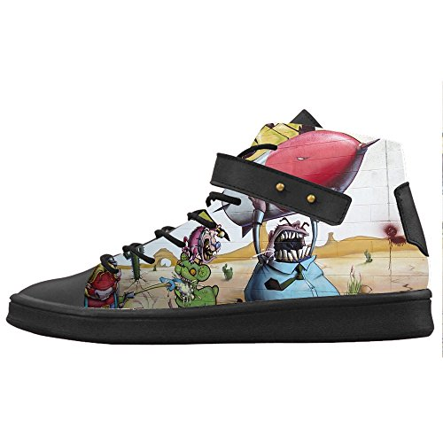 Custom Graffiti Womens Canvas shoes Le scarpe le scarpe le scarpe.