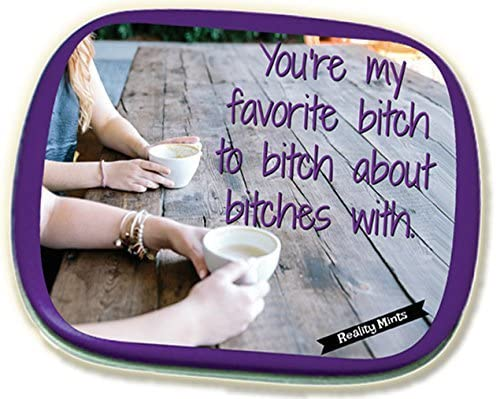 Favorite Bitch Mints – Funny for Besties White Elephant Ideas Candy Gifts for Adults Chocolate Breath Mints Best Bitch Gifts Funny Friend Gift Coffee Bachelorette Party Gifts