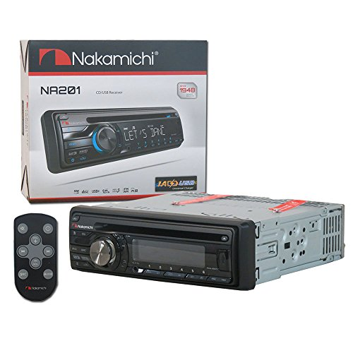 Nakamichi Single DIN Car WMA MP3 CD Stereo USB Aux-in for sale  Delivered anywhere in USA