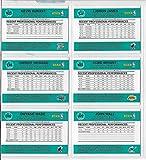 2010-11 PANINI STARTING FIVE 6 CARD SET- KOBE