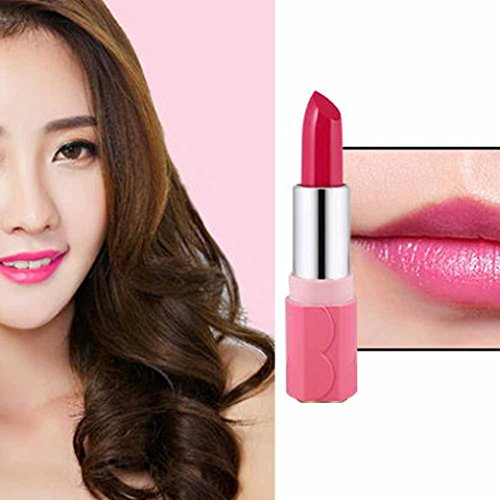 Price comparison product image WuyiMC Women Candy Lipsticks Does Not Stick Cup Lip Makeup Cosmetics Accessory Net Weight 3.4G ( B)