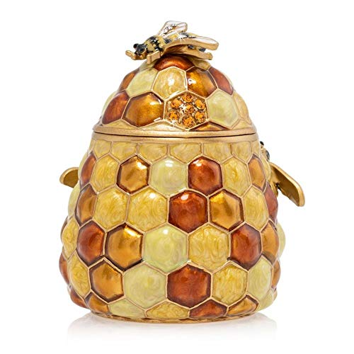 Jay Strongwater Beehive Box - Honey