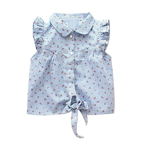 Verypoppa Girls Floral Sleeve Blouse product image