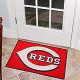 """MLB Cincinnati Reds 19"""" x 29"""" Red Logo Starter Mat"""