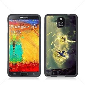 Dragon Ball Manga Comic Slim SON GOKU Samsung Galaxy Note 3 III N9005 Soft Black or White case (Black)