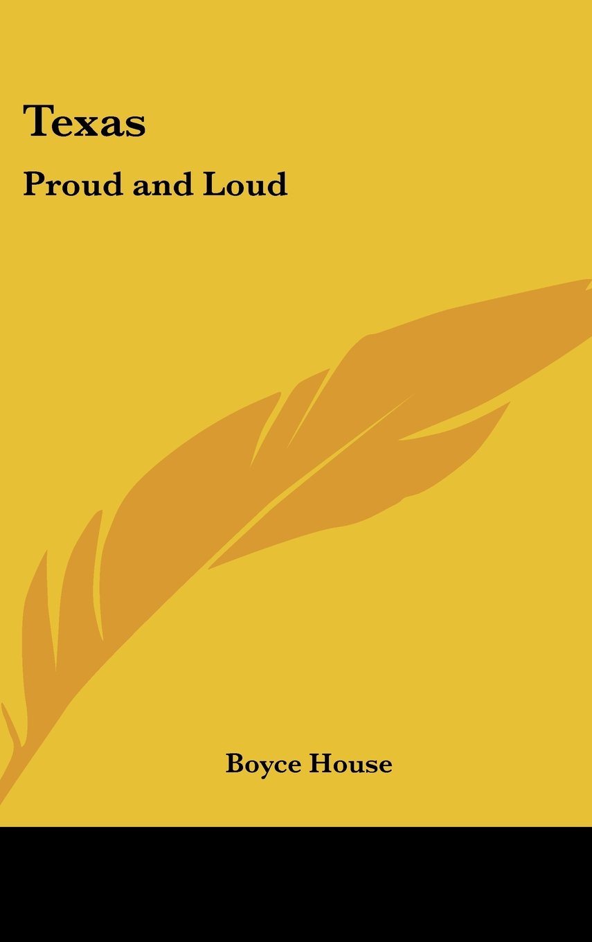 Download Texas: Proud and Loud PDF