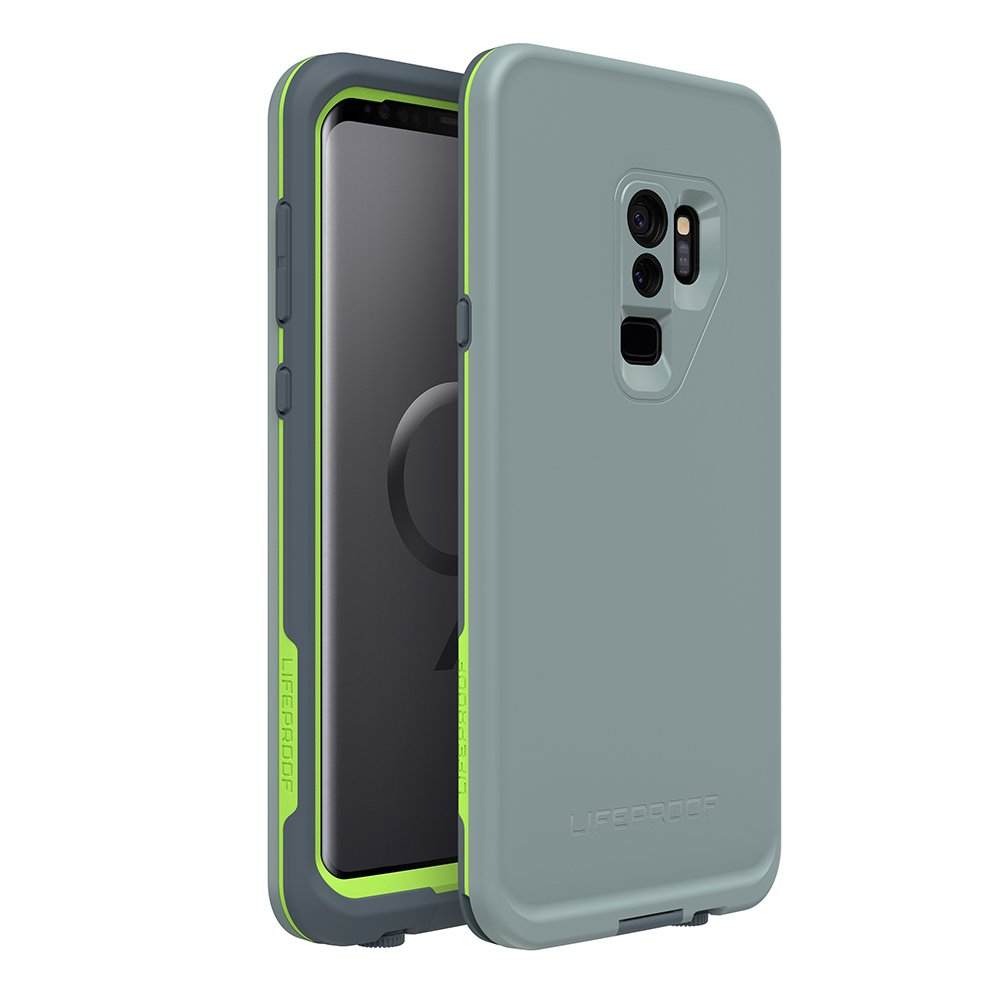 Lifeproof FRĒ Series Waterproof Case for Samsung Galaxy S9+ - Retail Packaging - Drop in (Abyss/Lime/Stormy Weather)