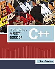 Gary Bronson's A FIRST BOOK OF C++, Fourth Edition, takes a hands-on, applied approach to the first programming language course for students studying computer science. The book begins with procedural programming in C, and then gradually intro...