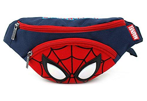 Disney MARVEL Spider Man Small HipSack Waist Pack Fanny Phone Wallet for Kids (Tour Fanny Pack)