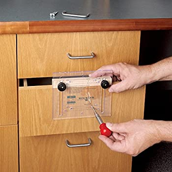 Deluxe Drawer Pull Jig It Cabinet Hardware Template For