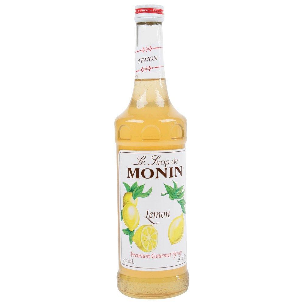 Monin Lemon Syrup 750ml (25.4oz)