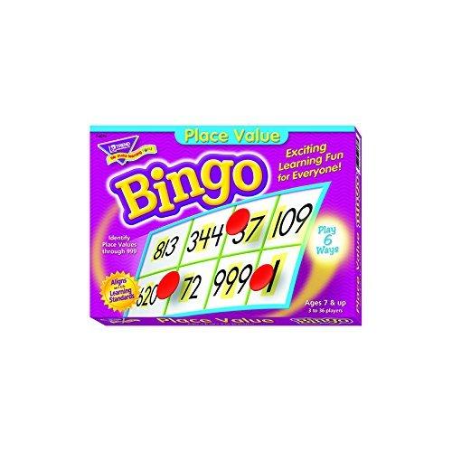 Place Value Bingo Game by Trend Enterprises Inc