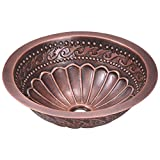 924 Single Bowl Copper Sink, Without Faucet