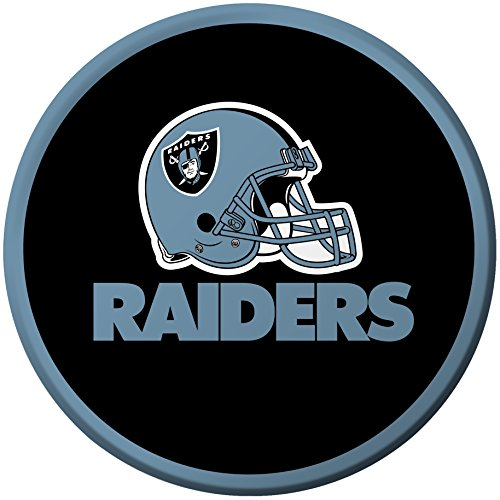Creative Converting 8 Count Oakland Raiders Paper Dessert Plates