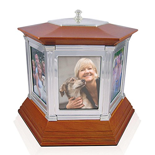 Perfect Memorials Large Rotating Memories Cremation Urn Up to 6 ()