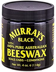 Murray's Beeswax, Black, 4 Ounce