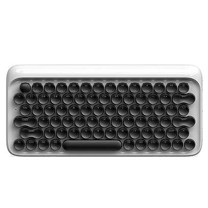 BOHENG Teclado, Punto Teclado mecánico Bluetooth, Teclado Complejo inalámbrico para iPad Tablet Apple Mac