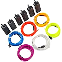 Theefun Neon Wire Lights 6-Pack (Assorted Colors)